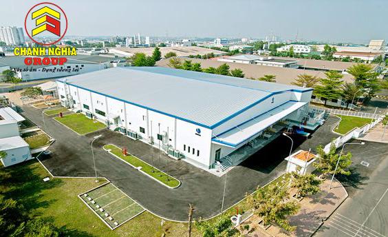 Công ty xây dựng nhà xưởng tại Tân Uyên