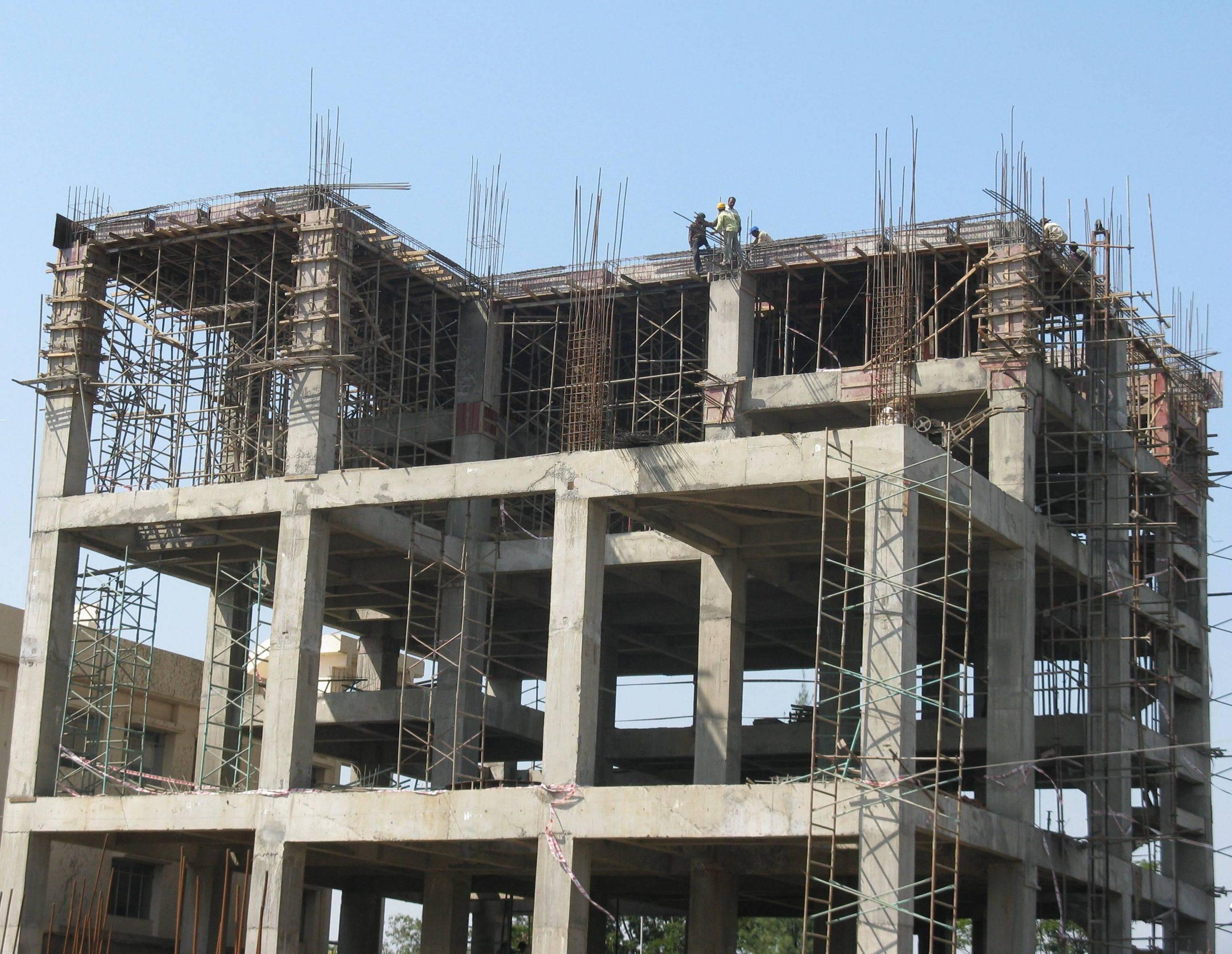 Công trình xây dựng bằng bê tông cốt thép