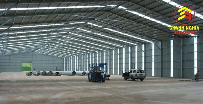 Thi công nền móng nhà xưởng tại Tân Uyên