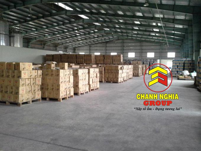 Thiết kế nhà kho tiền chế tại Thuận An Bình Dương