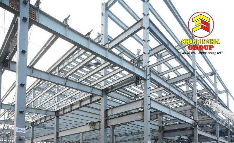 Xưởng gia công kết cấu thép tại Thủ Dầu Một Bình Dương