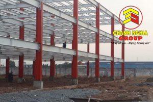 Thi công nhà xưởng tiền chế tại Bình Phước