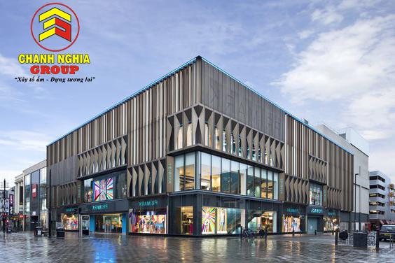 Thiết kế thi công siêu thị trung tâm thương mại tại Bình Dương