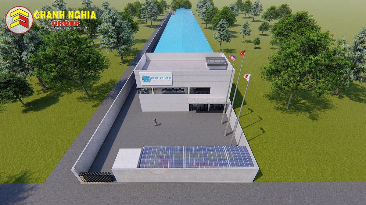 Nhà xưởng BluePower Tân Uyên - Chanh Nghia Group