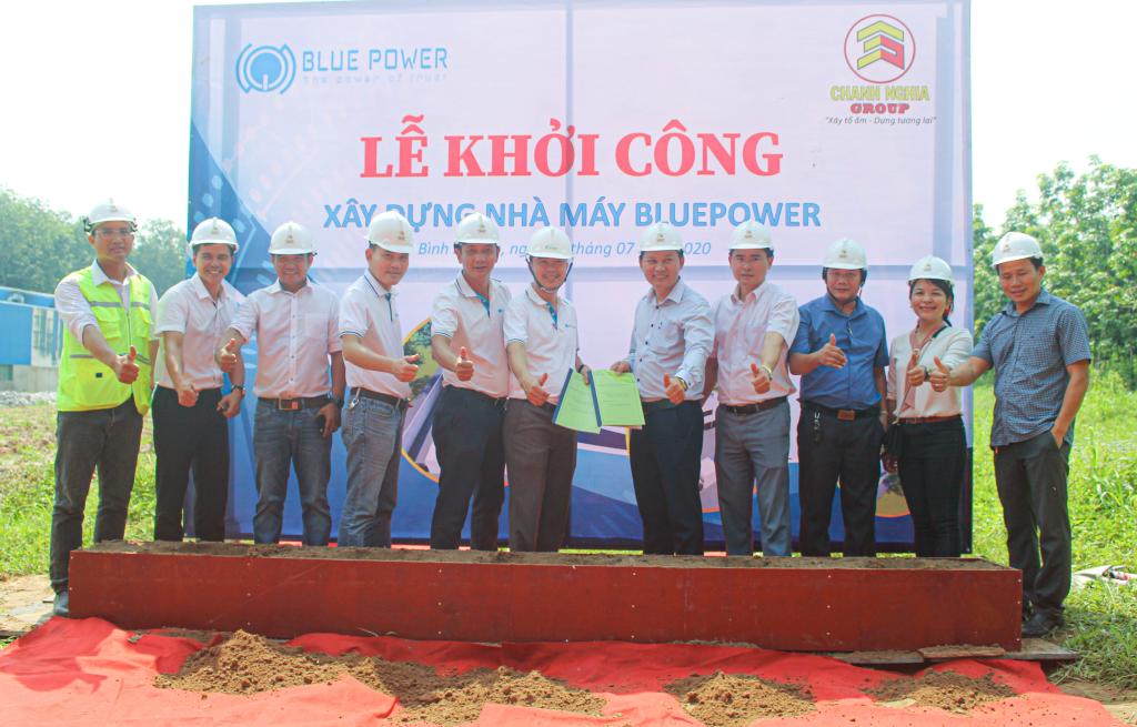 Khởi công nhà máy BluePower Tân Uyên - Chanh Nghia Group